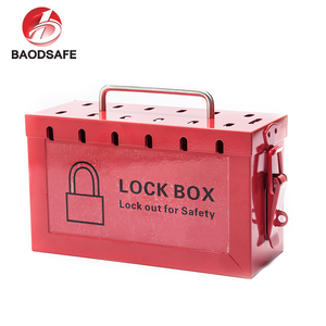 Group Safety Padlock Lockout Box Station