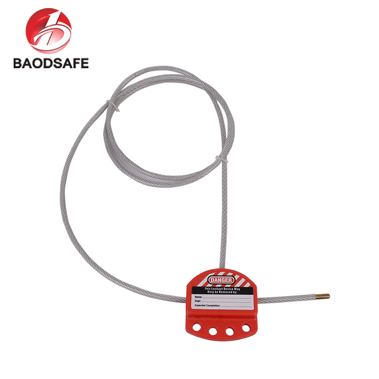 Multipurpose Safety Lockout Tagout Cable