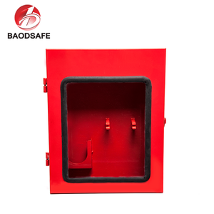 Wall Mounted 10 Padlock Lockout Station
